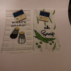 NWT 2 kitchen linens super cute sayings